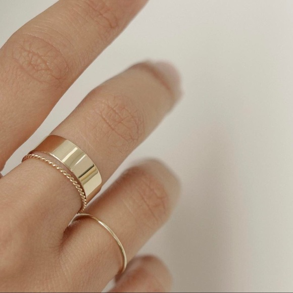 catbird Jewelry - Thick stacking ring